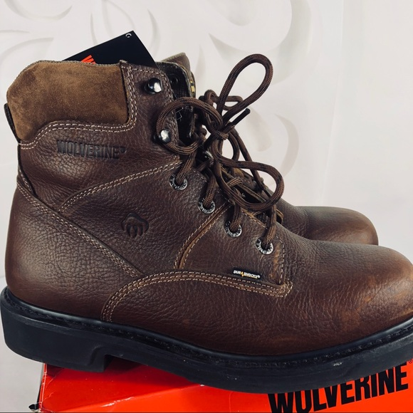 "9dfdbc5e6fd Wolverine Men's Tremor 6"" Leather Workboot 11"